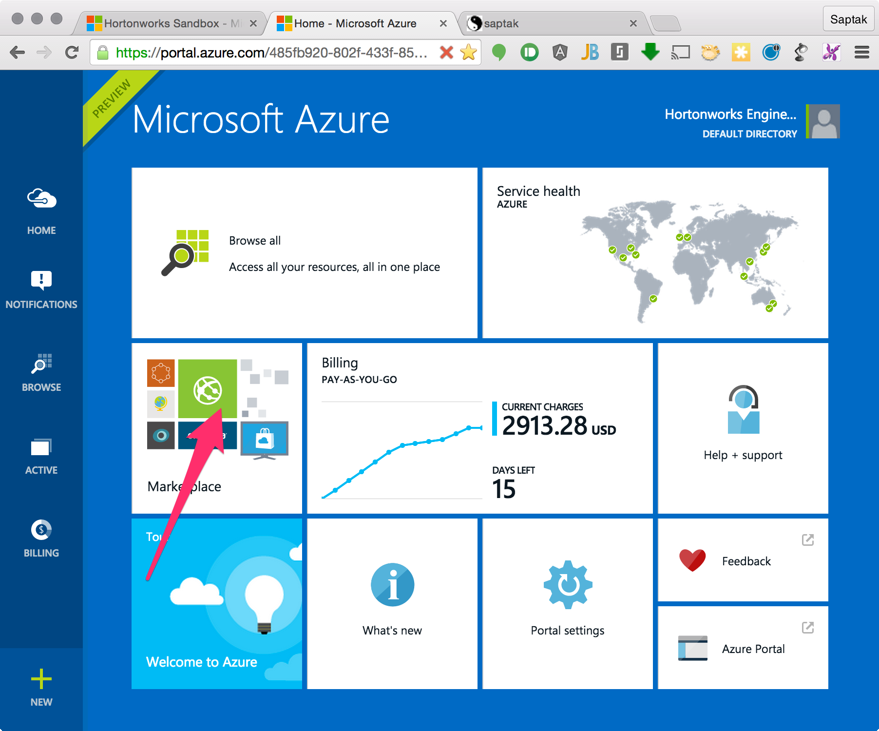 how to use microsoft azure